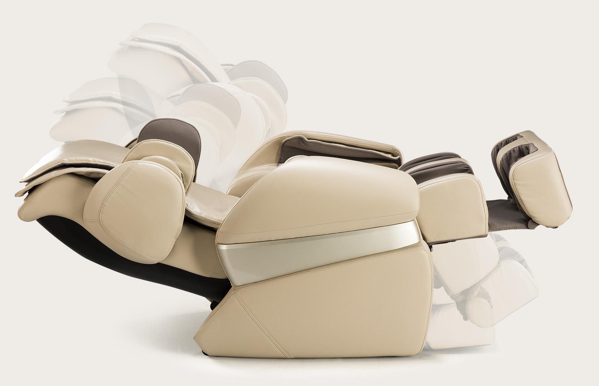 Fotel do masażu Massaggio Conveniente - automatyczne rozkładanie
