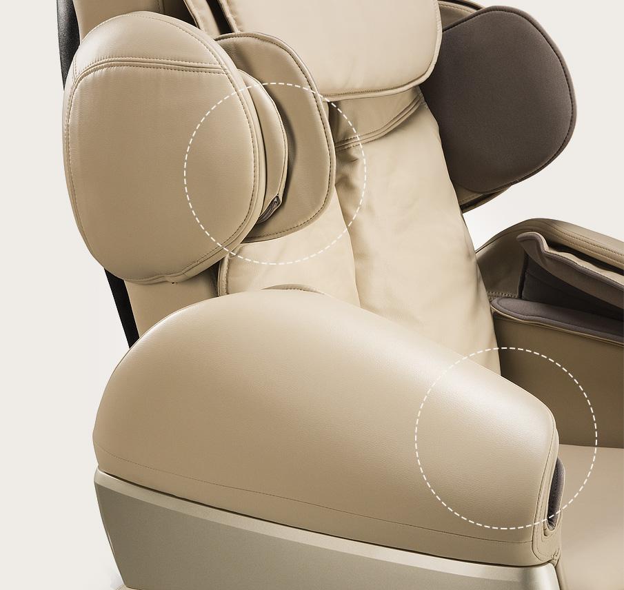 Fotel masujący Massaggio Conveniente - masaż rąk