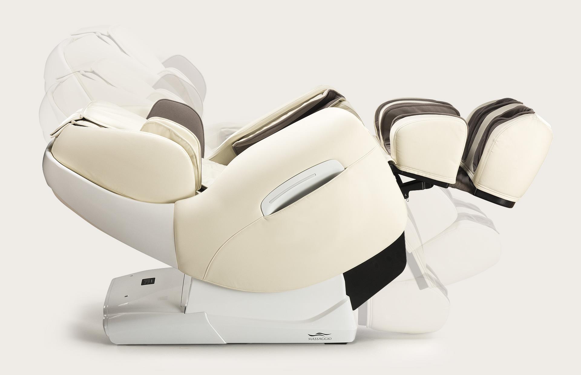 Fotel do masażu Massaggio Esclusivo - automatyczne rozkładanie