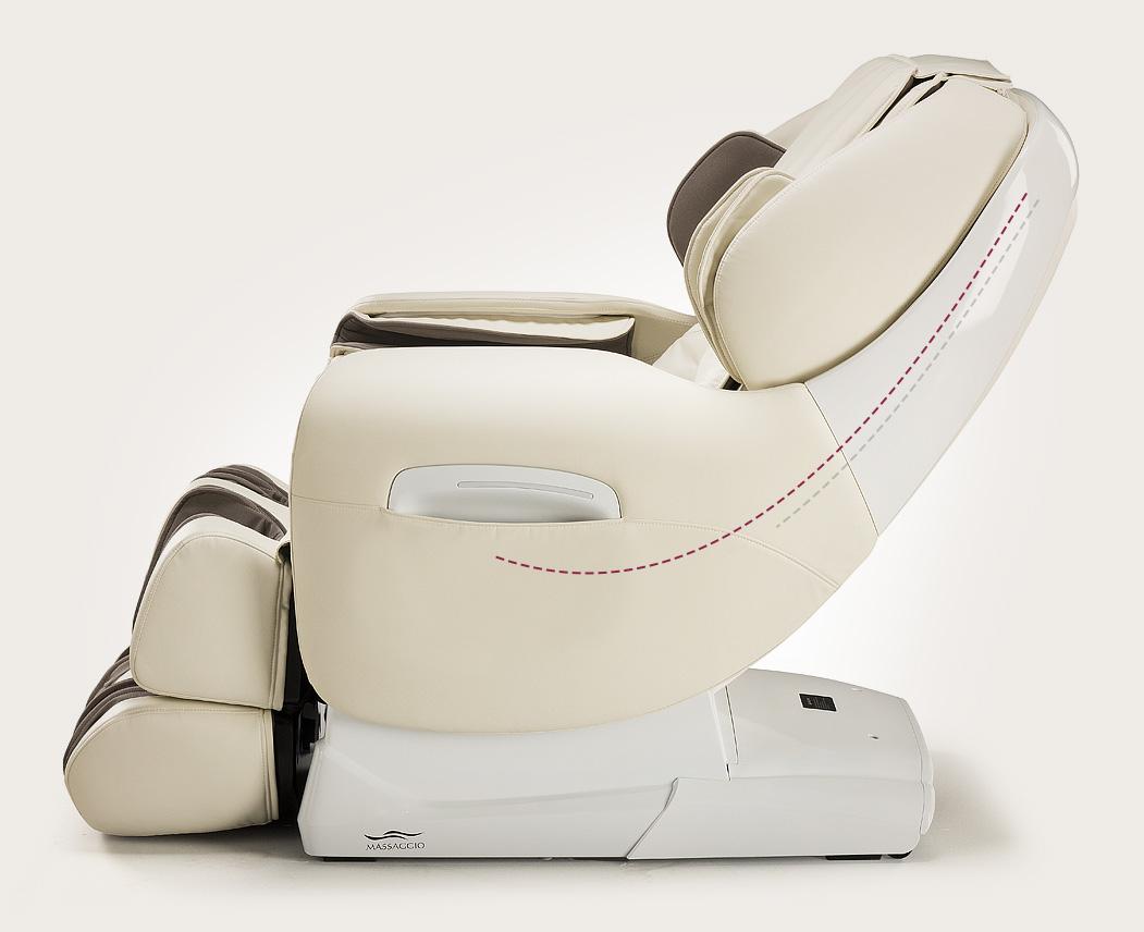 Fotel masujący Massaggio Esclusivo - funkcja L-shape