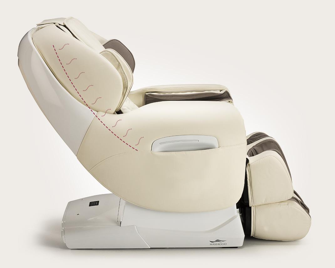Fotel masujący Massaggio Esclusivo - ogrzewanie pleców