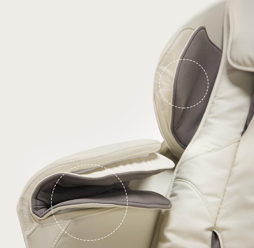 Fotel masujący Massaggio Esclusivo - masaż rąk