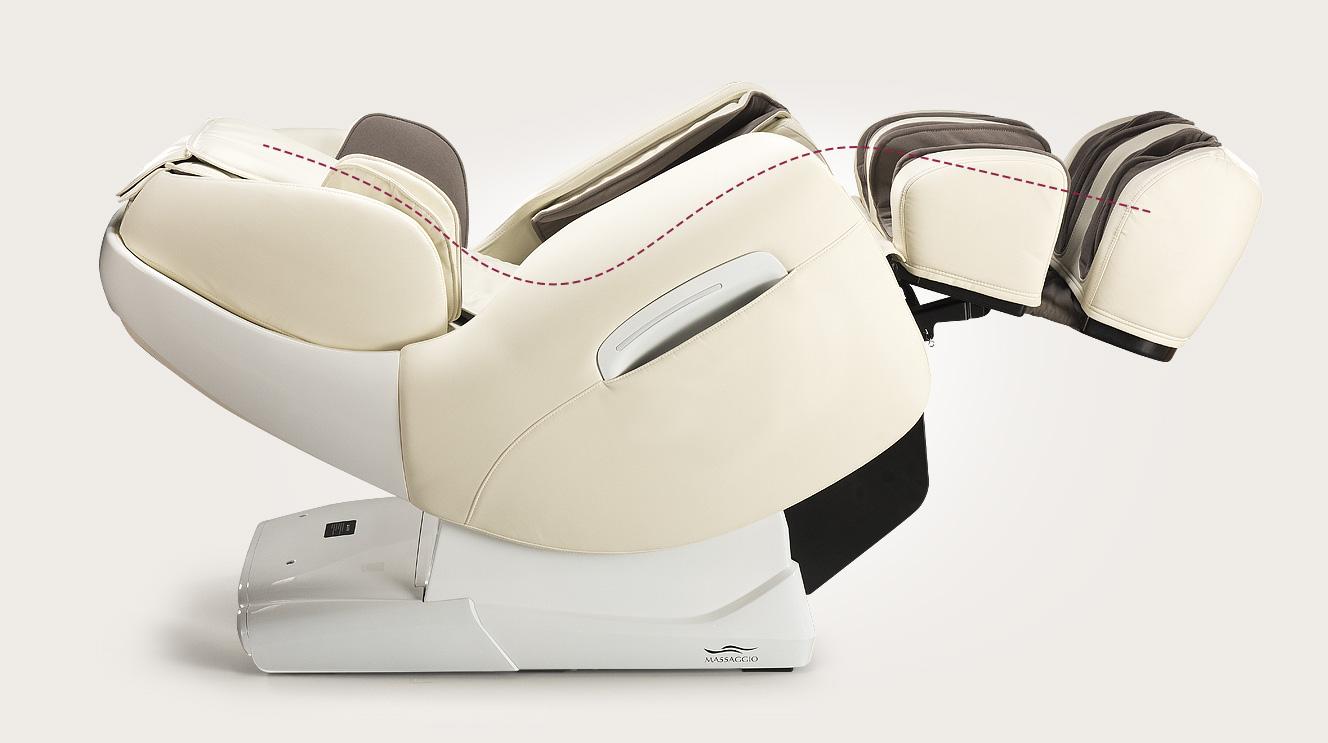 Fotel masujący Massaggio Esclusivo - funkcja Zero-Gravity