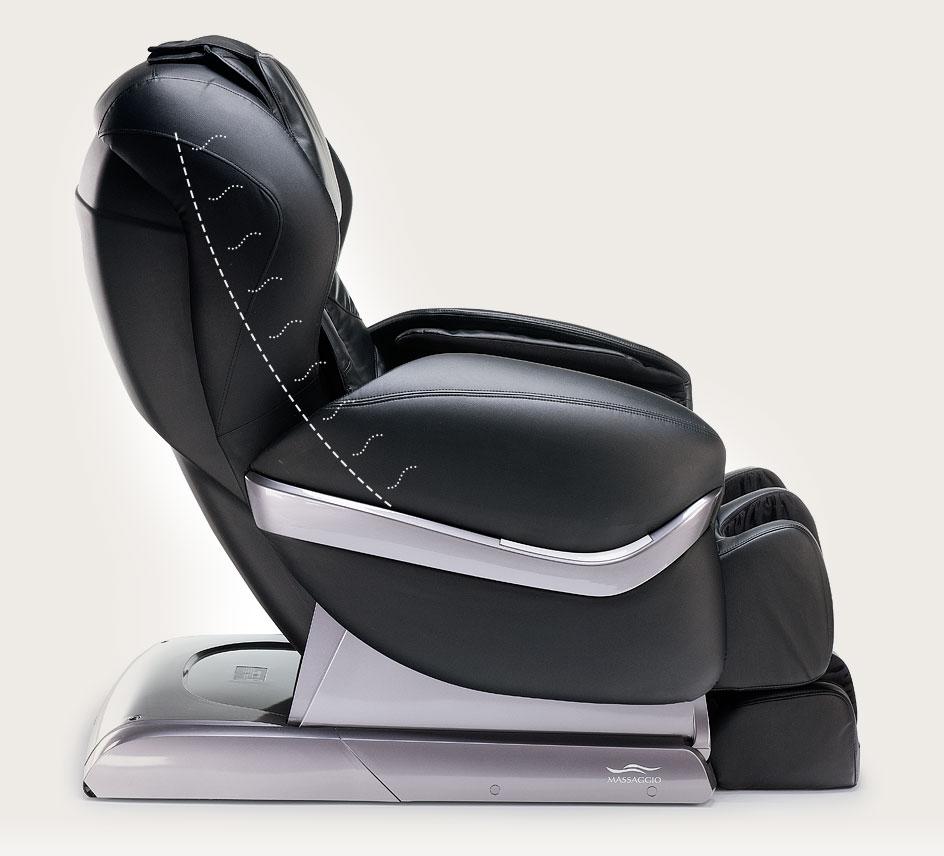 Fotel masujący Massaggio Eccellente - ogrzewanie IR
