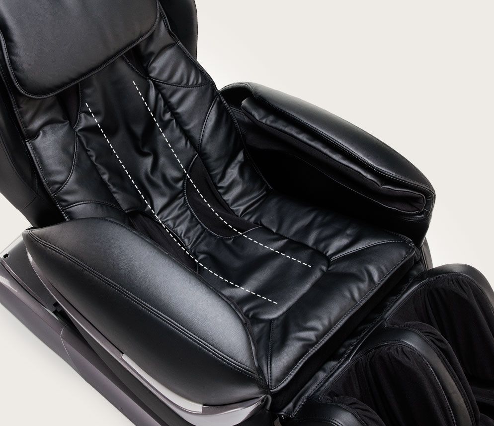 Fotel masujący Massaggio Eccellente - L-shape