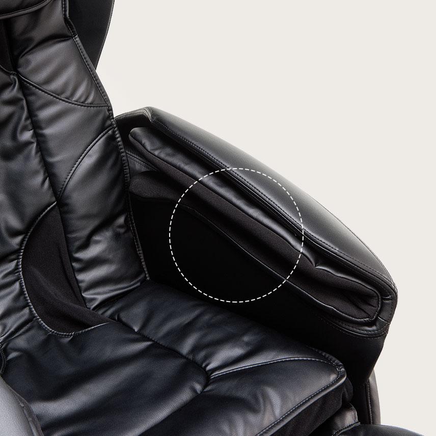 Fotel masujący Massaggio Eccellente - masaz poduszkami powietrznymi