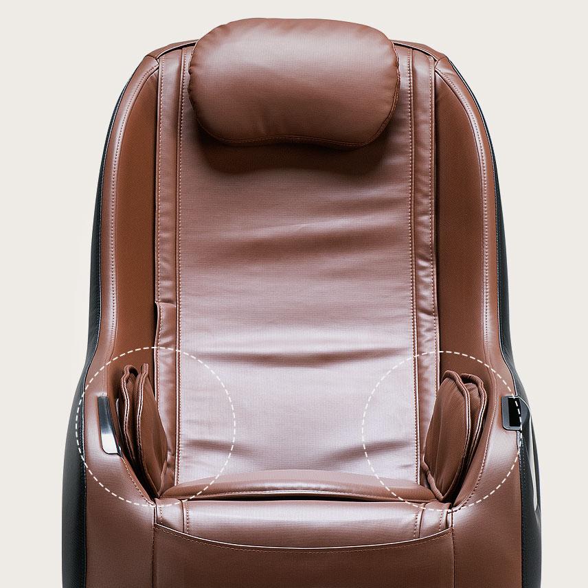 Fotel masujący Massaggio Piccolo - poduszki powietrzne