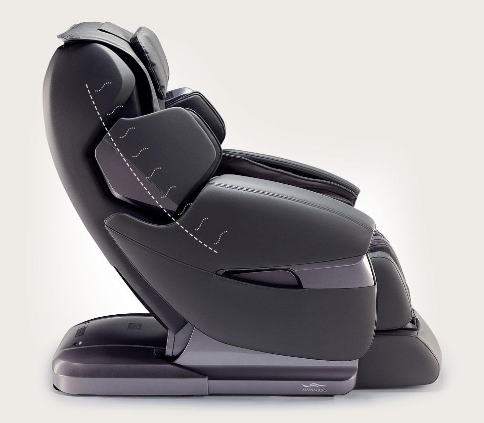 Fotel masujący Massaggio Stravagante - ogrzewanie
