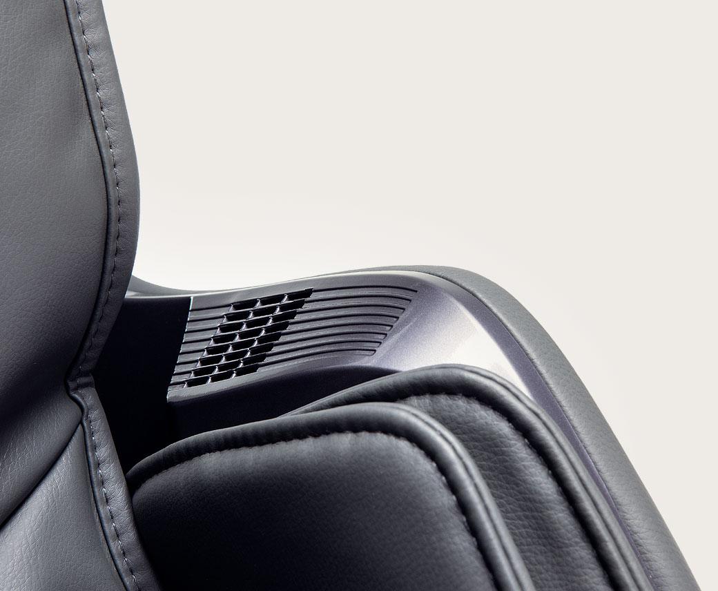 Fotel masujący Massaggio Stravagante - jonizator