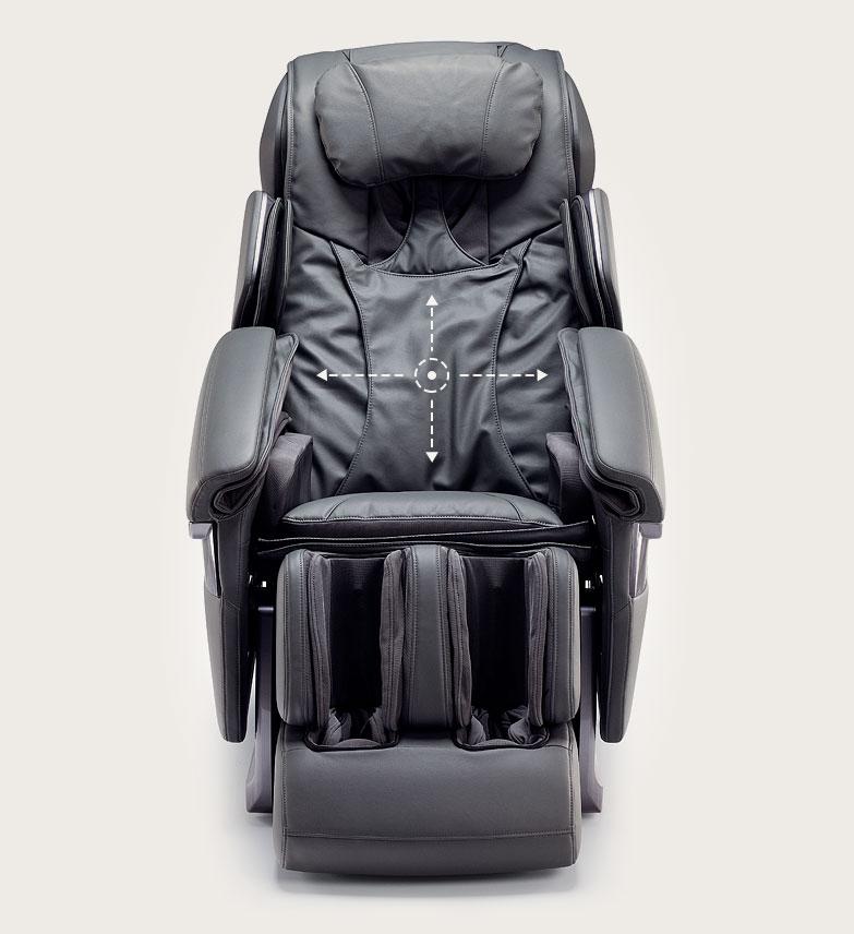 Fotel masujący Massaggio Stravagante - masaż 3D