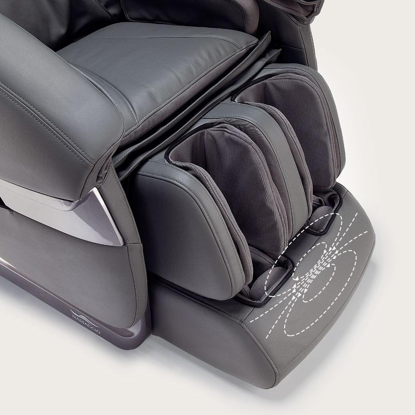 Fotel masujący Massaggio Esclusivo - masaż nóg