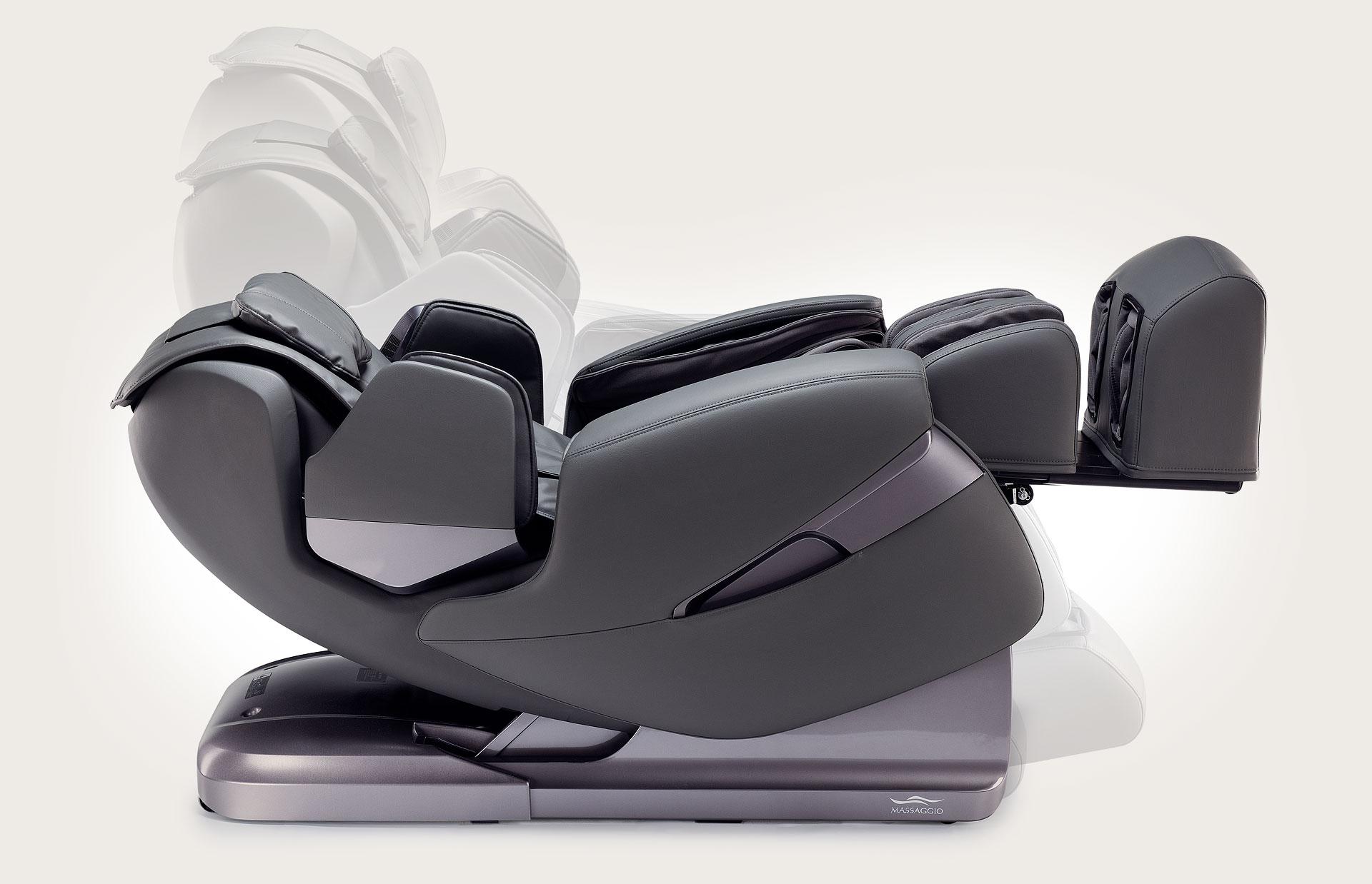 Fotel do masażu Massaggio Stravagante - automatyczne rozkładanie