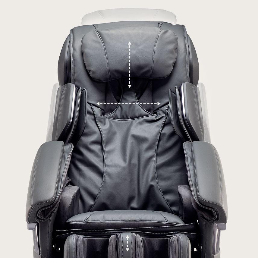 Fotel masujący Massaggio Stravagante - dopasowanie