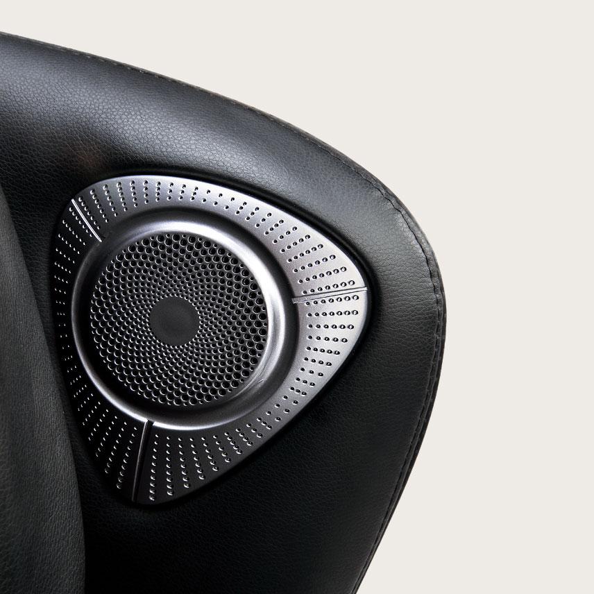 Fotel masujący Massaggio Bello 2 - muzyka przez Bluetooth