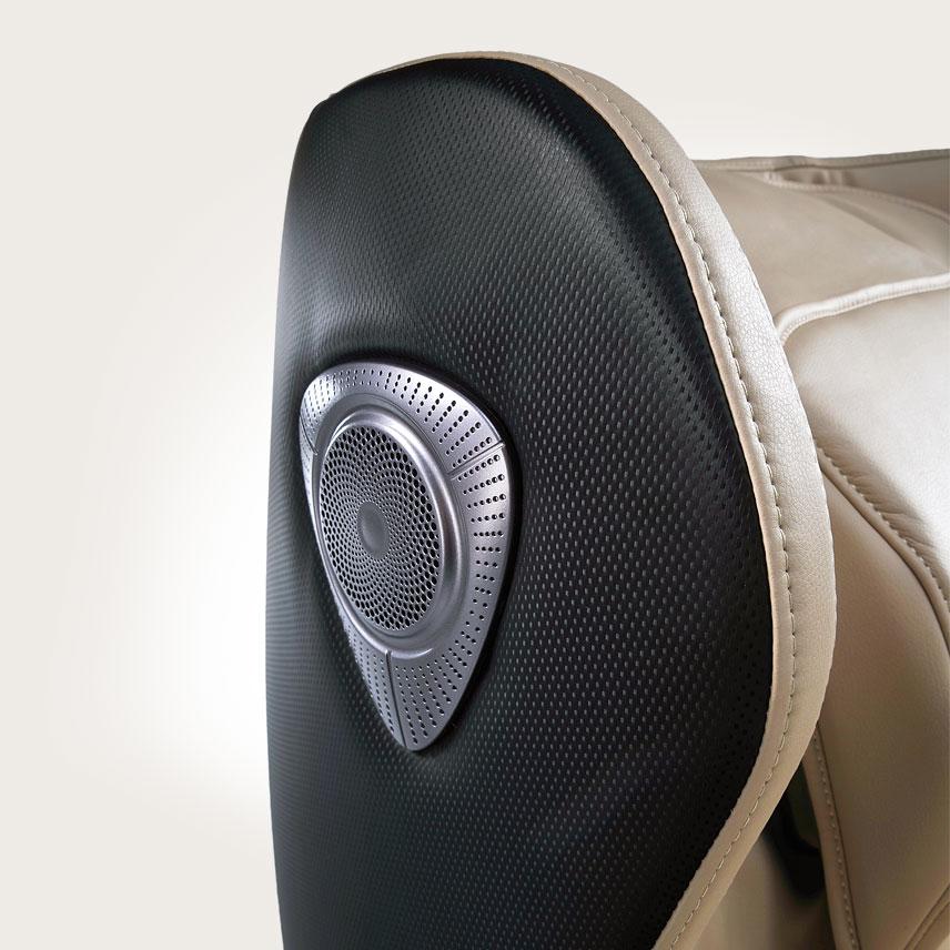Fotel masujący Massaggio Ricco - muzyka przez Bluetooth