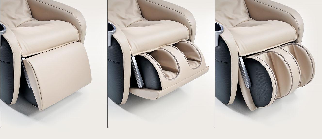 Fotel masujący Massaggio Ricco - masaż nóg