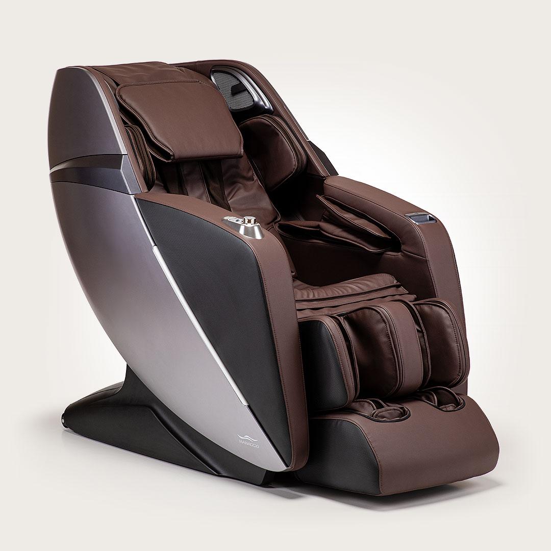Fotel masujący Massaggio Esclusivo 2 - brązowo-grafitowy