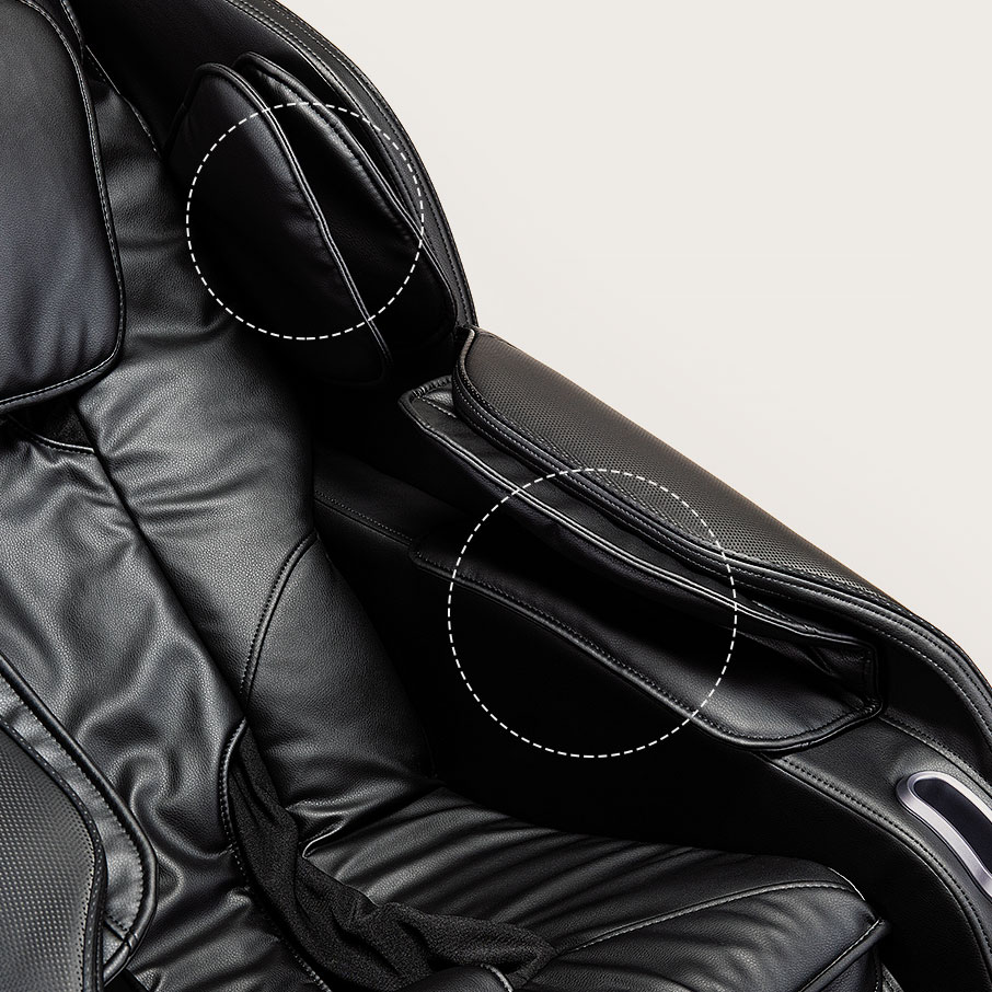 Fotel masujący Massaggio Eccellente 2 - masaż rąk
