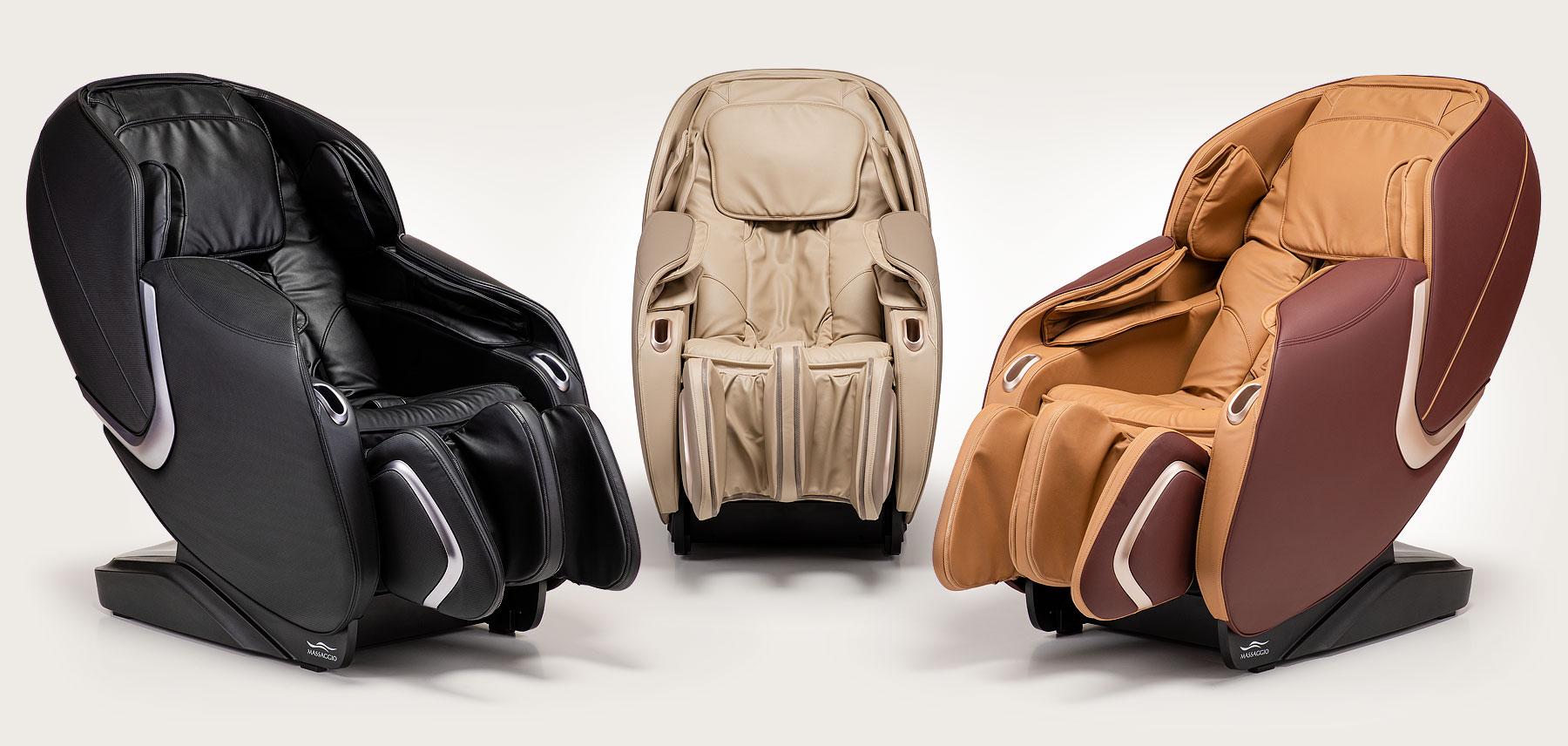 Fotel masujący Massaggio Eccellente 2 - kolory