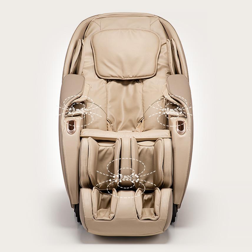 Fotel masujący Massaggio Eccellente 2 PRO - magnetoterapia