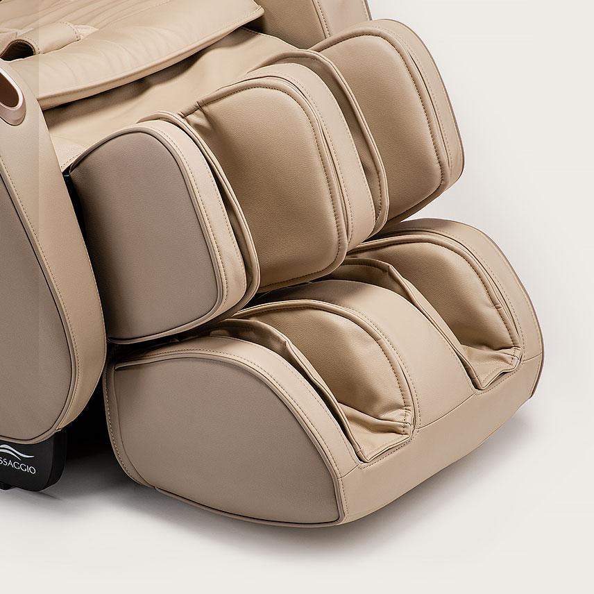 Fotel masujący Massaggio Eccellente 2 PRO - masaż nóg