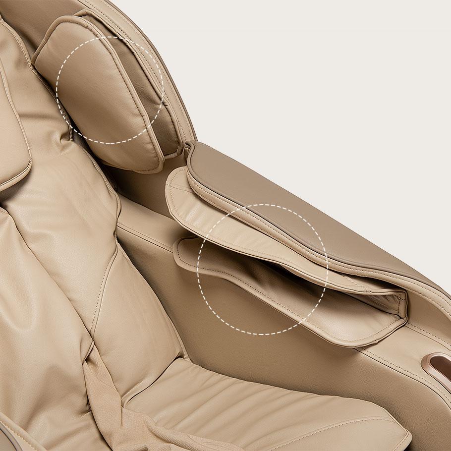 Fotel masujący Massaggio Eccellente 2 PRO - masaż rąk