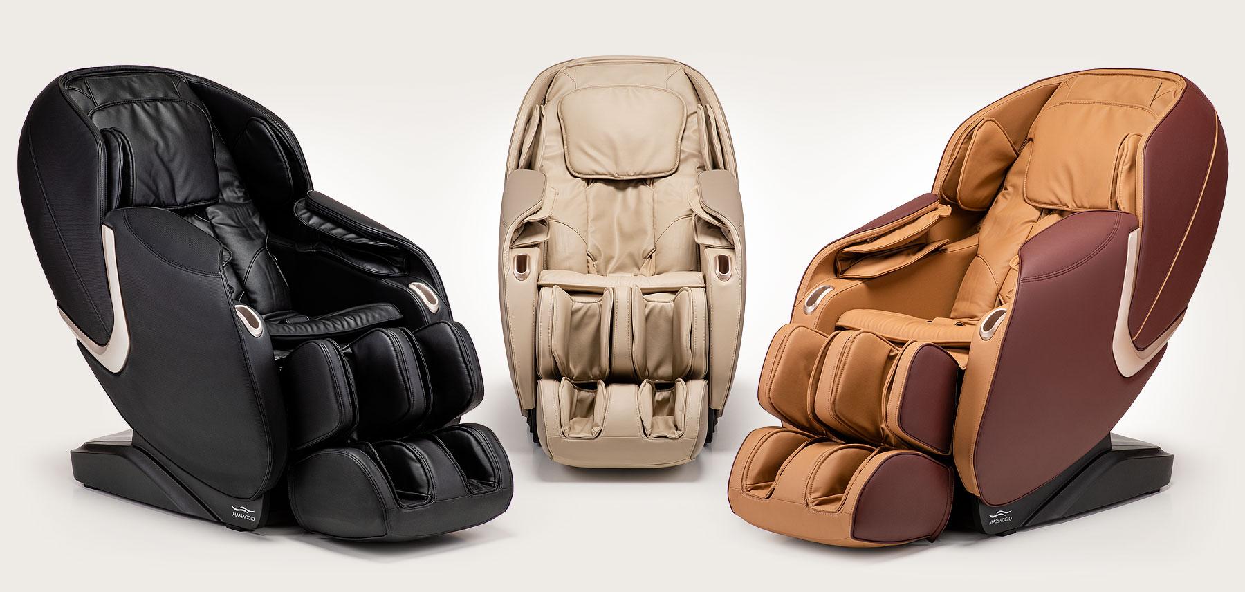 Fotel masujący Massaggio Eccellente 2 PRO - kolory