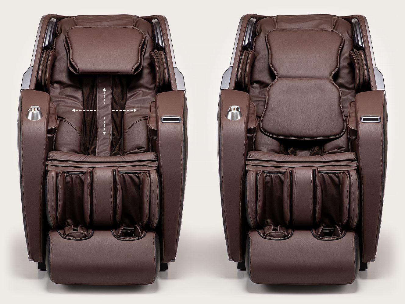 Fotel masujący Massaggio Esclusivo 2 - 2D i siła masażu