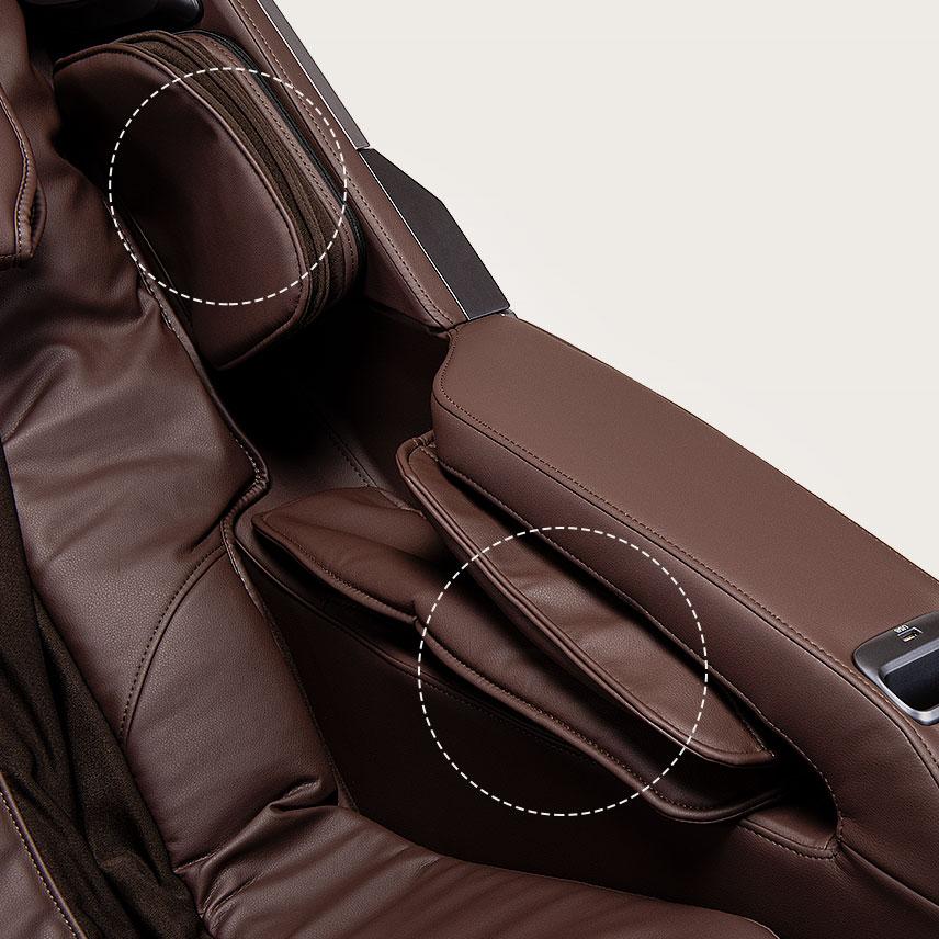 Fotel masujący Massaggio Esclusivo 2 - masaż rąk