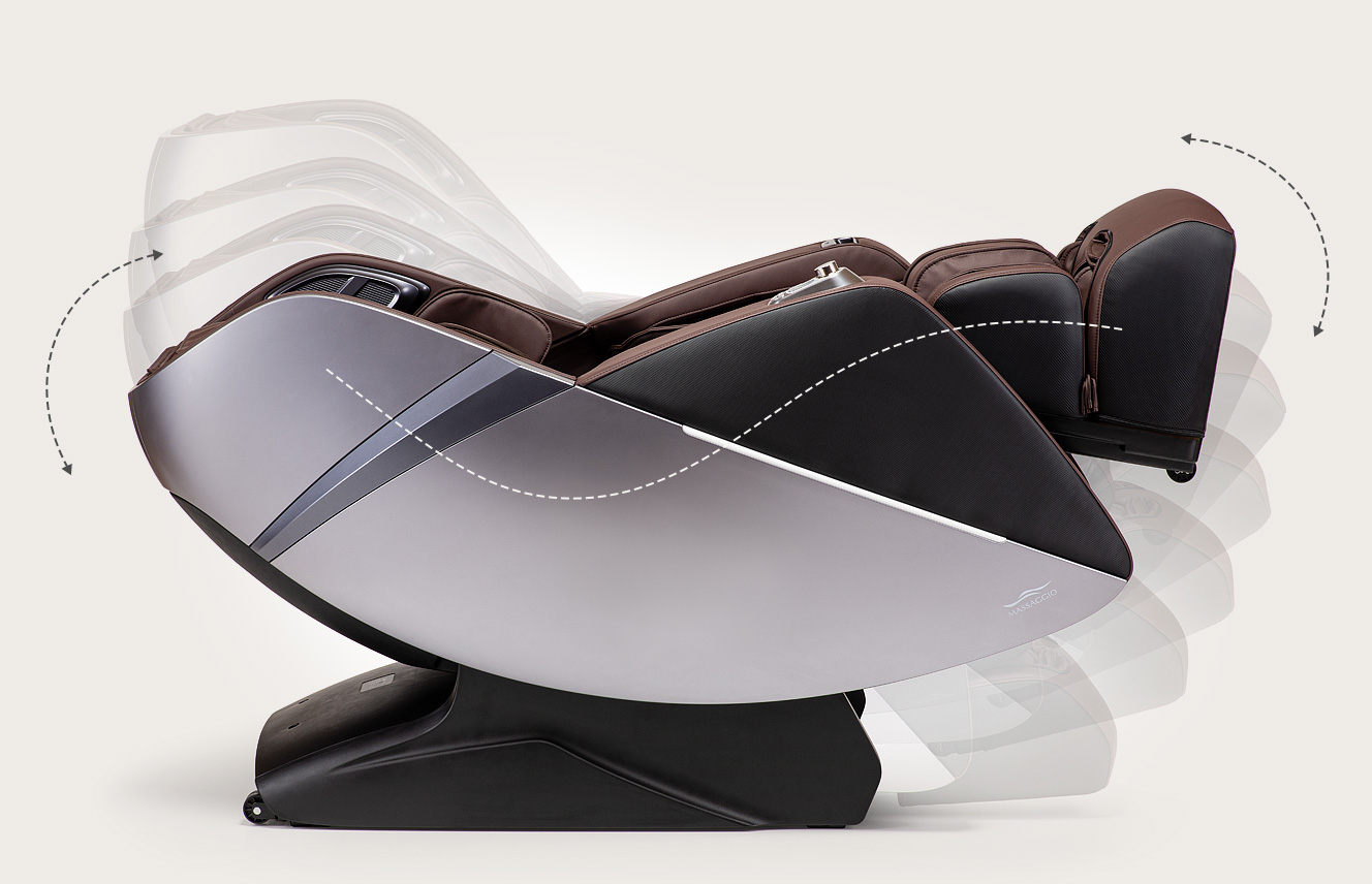 Fotel masujący Massaggio Esclusivo 2 - rozciąganie