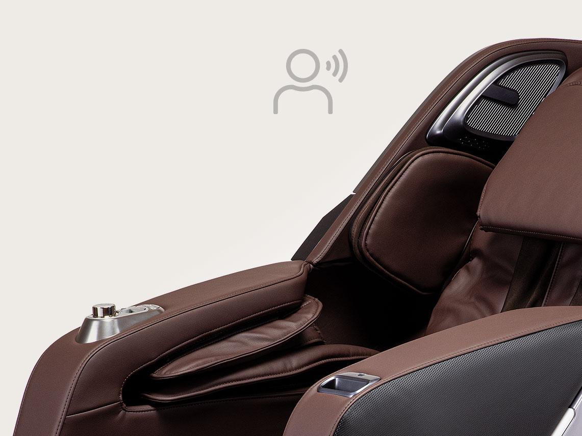 Fotel masujący Massaggio Esclusivo 2 - sterowanie głosowe