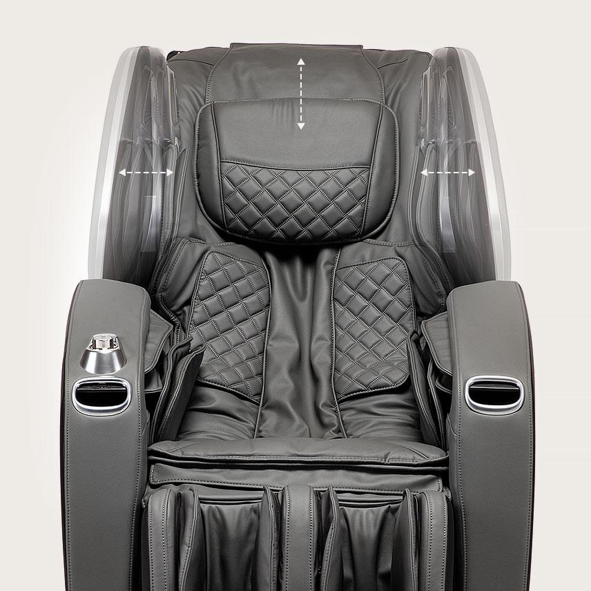 Fotel masujący Massaggio Stravagante 2 - regulacja