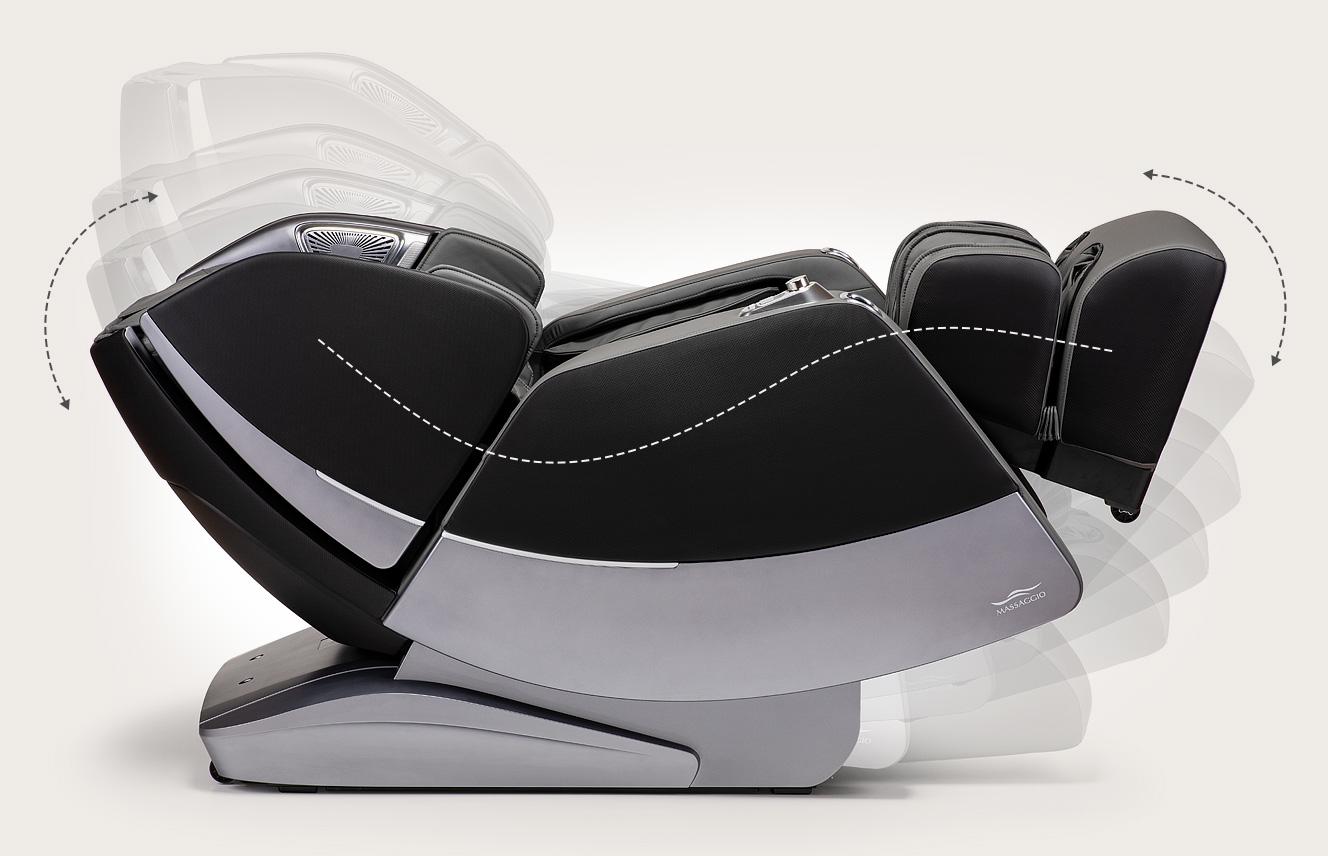 Fotel masujący Massaggio Stravagante 2 - rozciąganie