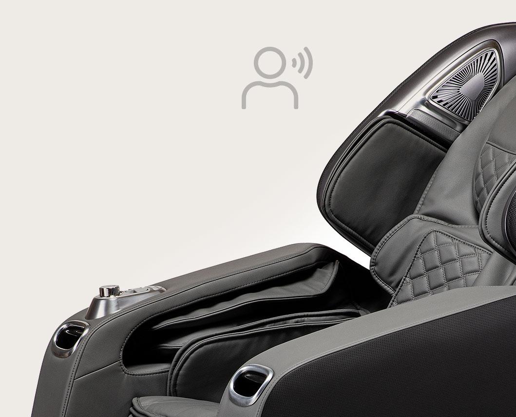Fotel masujący Massaggio Stravagante 2 - sterowanie głosowe